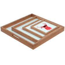 <strong>DENY Designs</strong> Nick Nelson Young Buck Square Tray