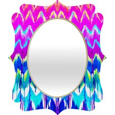 Holly Sharpe Summer Dreaming Quatrefoil Mirror