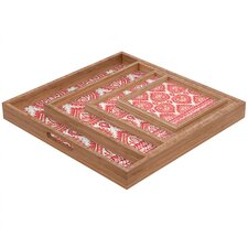 <strong>DENY Designs</strong> Aimee St Hill Decorative 1 Square Tray