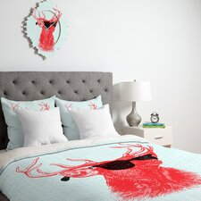 Nick Nelson Young Buck Duvet Cover