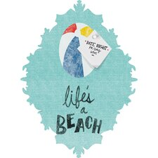 Nick Nelson Lifes A Beach Baroque Magnet Memo Board