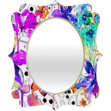 Holly Sharpe Lost in Botanica 1 Quatrefoil Mirror