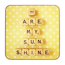 You Are My Sunshine by Happee Monkee Framed Photographic Print Plaque
