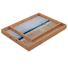 Leah Flores Lets Run Away III Rectangular Tray