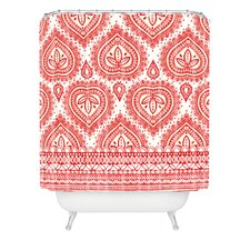 Aimee St Hill Decorative Woven Polyesterrr Shower Curtain