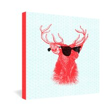 <strong>DENY Designs</strong> Nick Nelson Young Buck Gallery Wrapped Canvas