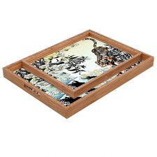 <strong>DENY Designs</strong> Aimee St Hill Tiger Tiger Rectangular Tray