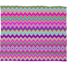 Amy Sia Chevron 2 Polyesterrr Fleece Throw Blanket