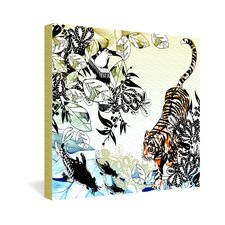 <strong>DENY Designs</strong> Aimee St Hill Tiger Tiger Gallery Wrapped Canvas