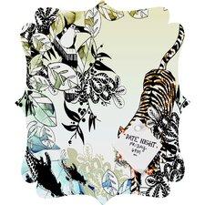 Aimee St Hill Tiger Tiger Quatrefoil Magnet Board