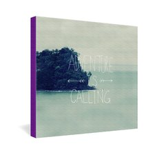 <strong>DENY Designs</strong> Leah Flores Adventure Island Gallery Wrapped Canvas