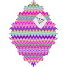 Amy Sia Chevron 2 Baroque Magnet Board