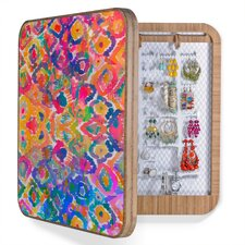 Amy Sia Watercolour Ikat Jewelry Box Replacement Cover