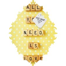 Happee Monkee All You Need Is Love 1 Baroque Magnet Board