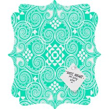 Budi Kwan Decographic Quatrefoil Memo Board