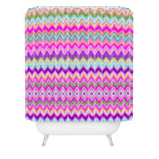 Amy Sia Chevron 2 Woven Polyester Shower Curtain