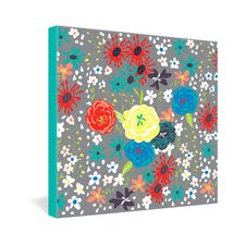 Vy La Bloomimg Love Gallery Wrapped Canvas