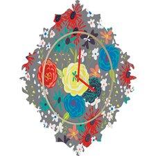 Vy La Blooming Love Wall Clock
