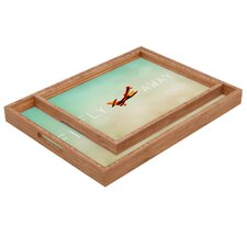 Happee Monkee Fly Away Rectangular Tray