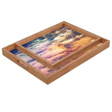 <strong>DENY Designs</strong> Shannon Clark Cosmic Rectangular Tray