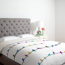 <strong>DENY Designs</strong> Belle 13 Happy Spring Duvet Cover Collection