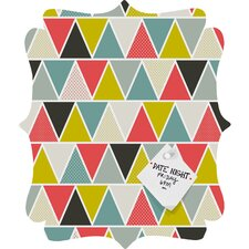 Heather Dutton Triangulum Quatrefoil Magnet Board