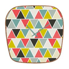 <strong>DENY Designs</strong> Heather Dutton Triangulum Wall Clock