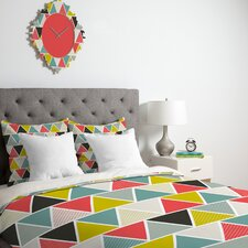 Heather Dutton Triangulum Duvet Cover Collection
