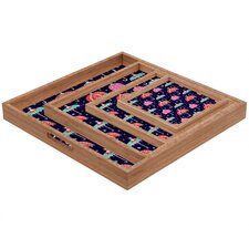 Rebekah Ginda Design Night Shower Square Tray