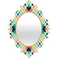 <strong>DENY Designs</strong> Budi Kwan Retrographic Rainbow Baroque Mirror