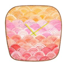 Cori Dantini Warm Spectrum Wall Clock