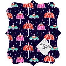 Rebekah Ginda Design Night Shower Quatrefoil Magnet Memo Board