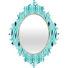 <strong>DENY Designs</strong> Amy Sia Ikat Jade Baroque Mirror