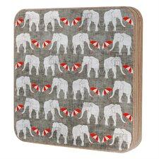 Holli Zollinger Elephant and Umbrella Jewelry Box Replacement Cover