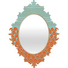 <strong>DENY Designs</strong> Budi Kwan The Infinite Tidal Baroque Mirror