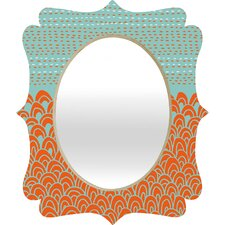 <strong>DENY Designs</strong> Budi Kwan The Infinite Tidal Quatrefoil Mirror