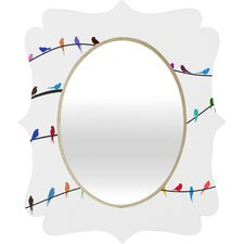 Belle 13 Happy Spring Quatrefoil Mirror