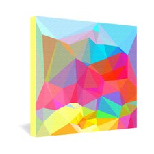 Crystal Crush by Three of Thee Possessed Graphic Art on Canvas