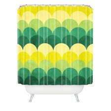 Arcturus Scales Woven Polyesterrr Shower Curtain
