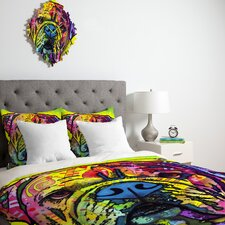 <strong>DENY Designs</strong> Dean Russo Hey Bulldog Duvet Cover Collection