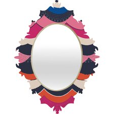 <strong>DENY Designs</strong> Vy La Unwavering Love Baroque Mirror