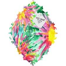 Joy Laforme Floral Confetti Baroque Memo Board