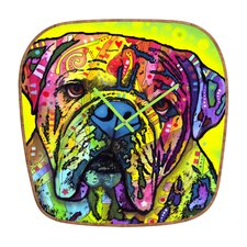 Dean Russo Hey Bulldog Wall Clock
