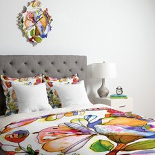 CayenaBlanca Blossom Pastel Duvet Cover Collection