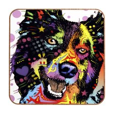 Dean Russo Border Collie Wall Art