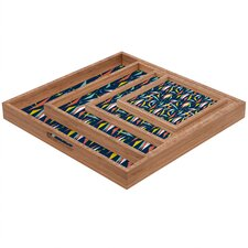Heather Dutton Swizzlestick Party Girl Square Tray