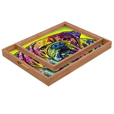 Dean Russo Hey Bulldog Rectangular Tray