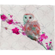 Hadley Hutton Quinceowl Polyesterrr Fleece Throw Blanket