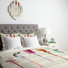 <strong>DENY Designs</strong> Iveta Abolina Feathered Arrows Duvet Cover Collection