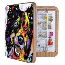 Dean Russo Border Collie Jewelry Box